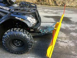 Quads, ATV  (All Terrain Vehicles) - Quad ATV CF-Moto Goes Iron
