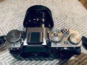 Fujifilm X-T3 spiegellose Digitalkamera Silber