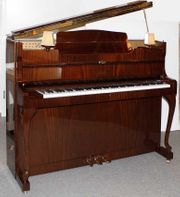 Klavier Schimmel 116 Chippendale Mahagoni