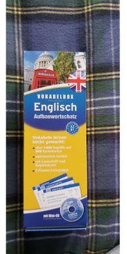 English Vokabelbox Aufbauwortschatz