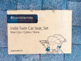 Kinderwagen - Zwillingskinderwagen Geschwisterkinderwagen Bumbleride Indie Twin