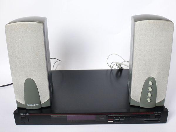 Stereo-Anlage NIKKO Medion