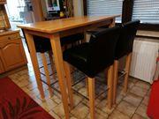 Küchenset Hochtisch mit Stühlen