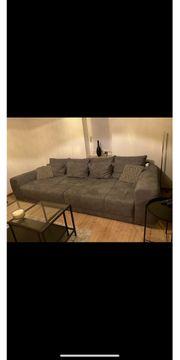 Big Sofa in grau mit