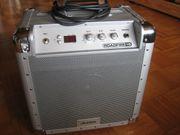 Gitarrenverstärker Netz- oder Akku-betrieben