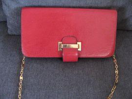 Damenhandtasche (Clutch) Kirschrot