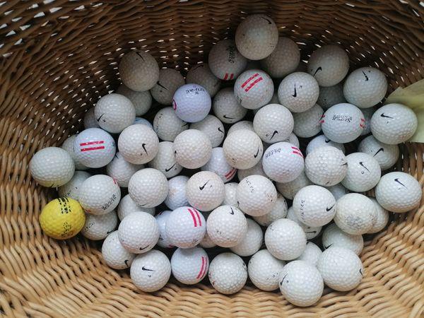 gebrauchte Golfbälle