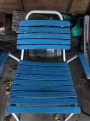 Gartenstühle 60er Jahre