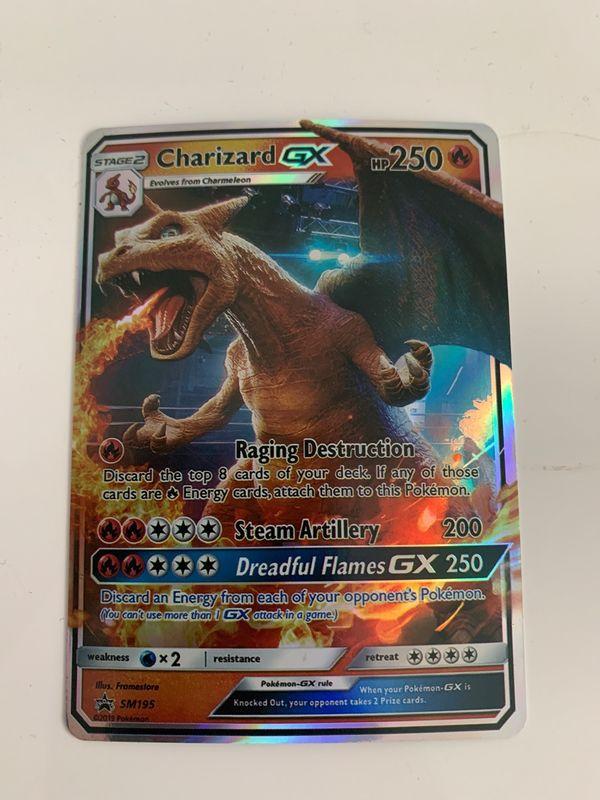 Pokemon karte Charizard GX als