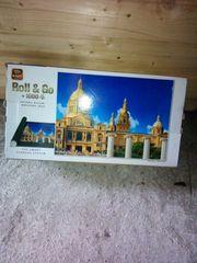 1000 Puzzle mit Puzzle matte