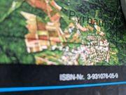 Kartographie seltene Landsat5 Satelliten Karte