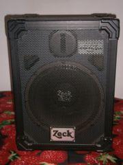 2 Zeck Lautsprecherboxen E-Voice