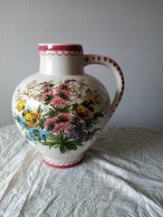 Große Bodenvase Ulmer Keramik ca