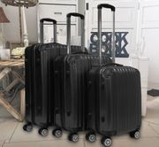 Set 3 neue Hartschalen-Koffer Reise-Koffer