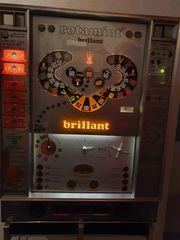 Geldspielautomaten Brillant 70er Jahre auf