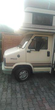 Fiat Dukato 3-Achser mit Motorradbühne