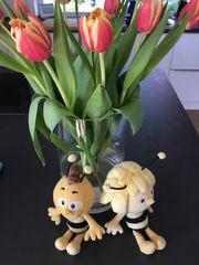 Biene Maja und Willi Kuscheltier