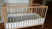 Baby Kinder Bett 120x60cm