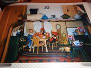 Antike Puppenstube