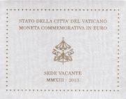 2 Euro Vatikan Sede Vacante