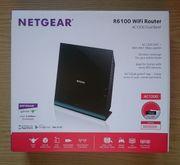 NETGEAR R6100-100PES Wifi Router AC1200