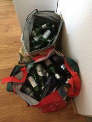 Pfandflaschen kostenlos abzugeben
