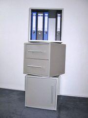Bürowürfel - Würfel - Silbergrau - Aktenwürfel - Würfelturm