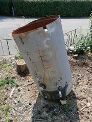 Metall Wassertank mit Hahn zu
