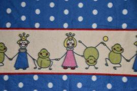 Baby- und Kinderartikel - Kinder-Decke Fleece-Decke PRINCE Prinzessin Frösche