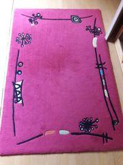 Teppich brombeerfarben 180 x 120