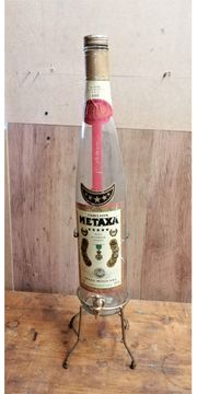 3 liter Metaxaflasche mit Auslaufhan