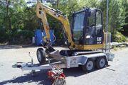 Baumaschinen Minibagger Bj 14 Caterpillar