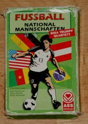 Karten-Spiel - Fussball-Nationalmannschaften - von ASS