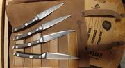 Burnhard 4 teiliges Steakmesser Set