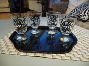 4 St Trinkgläser Gläser inkl