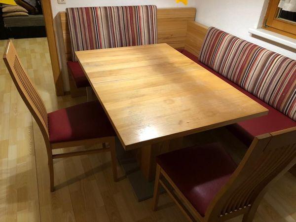 Sitzgruppe Eckbank mit Tisch