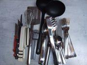 Besteck Konvolut gebraucht Gabel Messer