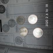 5 DM Silberadler 1963 kompletter