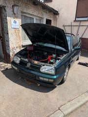 Schlachtfest VW Golf 3 Cabrio