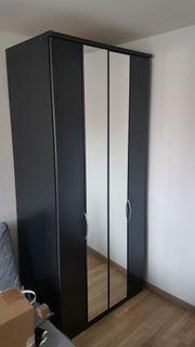 Kleiderschrank Falttüren Spiegel Breite 150cm