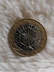 1Euro Münze Frankreich 1999