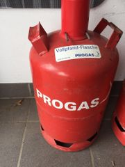 11 KG Gasflasche rot Voll
