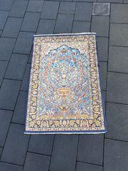 Echter Isphahan Perserteppich Orientteppich Teppich