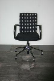 Stuhl Konferenzstuhl in schwarz weiß