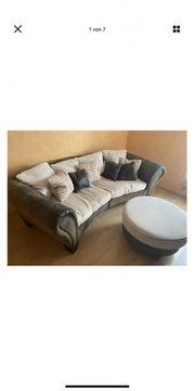 Sofa Couch xxl vintage braune