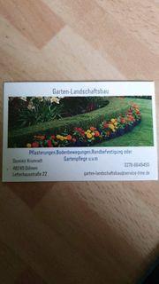 Hausmeister-Service Garten und Landschaftsbau