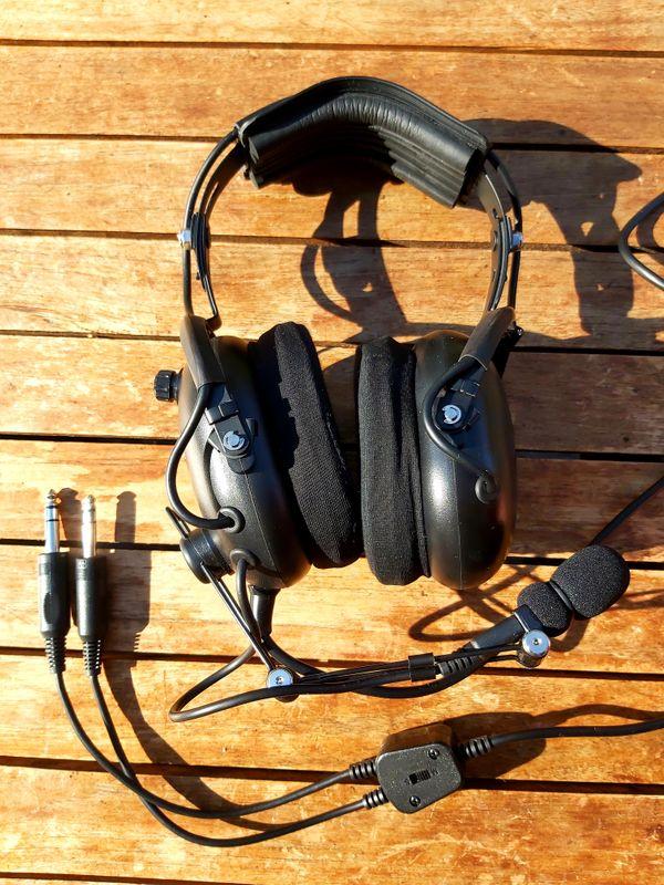 Headset Flightcom Classic 4DX
