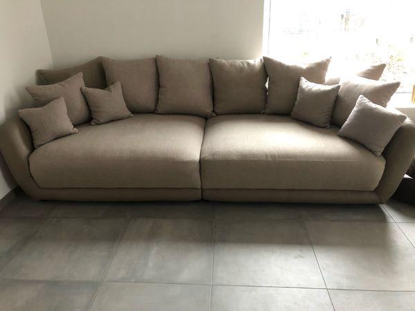 Big Sofa Struktur Kunstleder