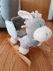 Schaukeltier Esel von Nattou neuwertig