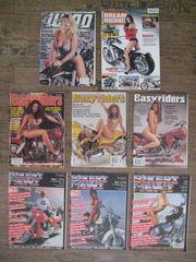 8 Stück gebrauchte Chopper Custom-Zeitschriften